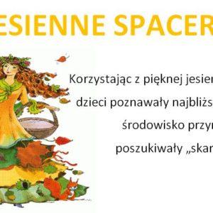 Jesienne Spacery