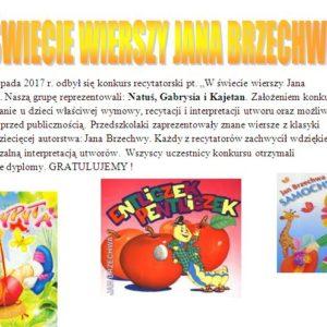 W świecie wierszy Jana Brzechwy