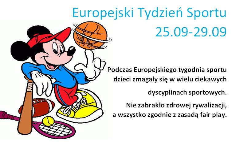 Europejski Tydzień Sportu