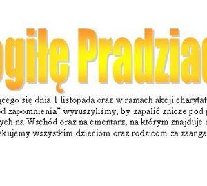 """""""Mogiłę pradziada ocal od zapomnienia"""""""