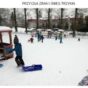 Przyszła zima…