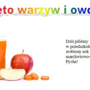 Święto warzyw i owoców