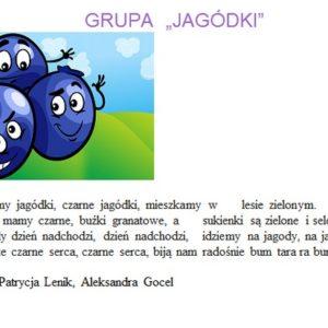 """Grupa """"Jagódki"""""""