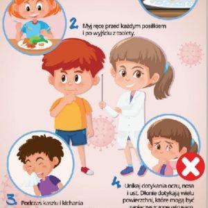 Materiały informacyjne-zagrożenie koronawirusem