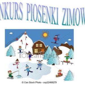 Konkurs piosenki zimowej
