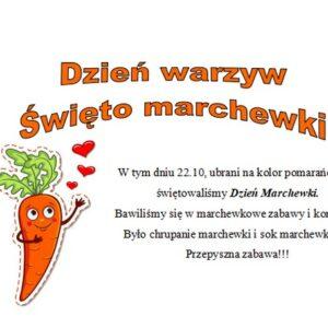 Dzień warzyw, święto marchewki